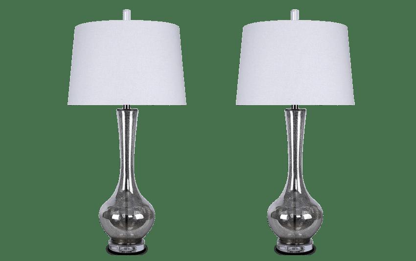 Set of 2 Camilla Lamps