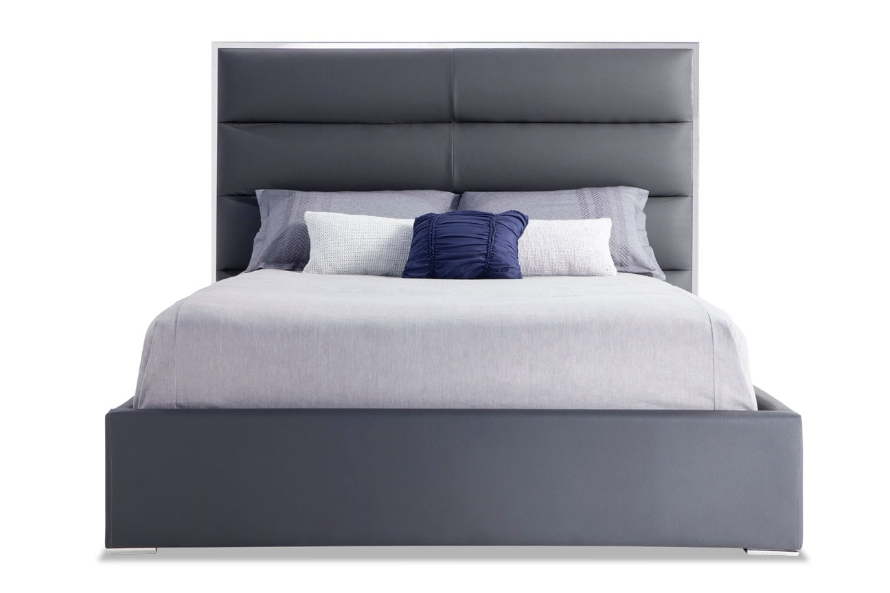 Platinum Upholstered Bed