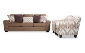 Luca Sofa & 2 Accent Chairs