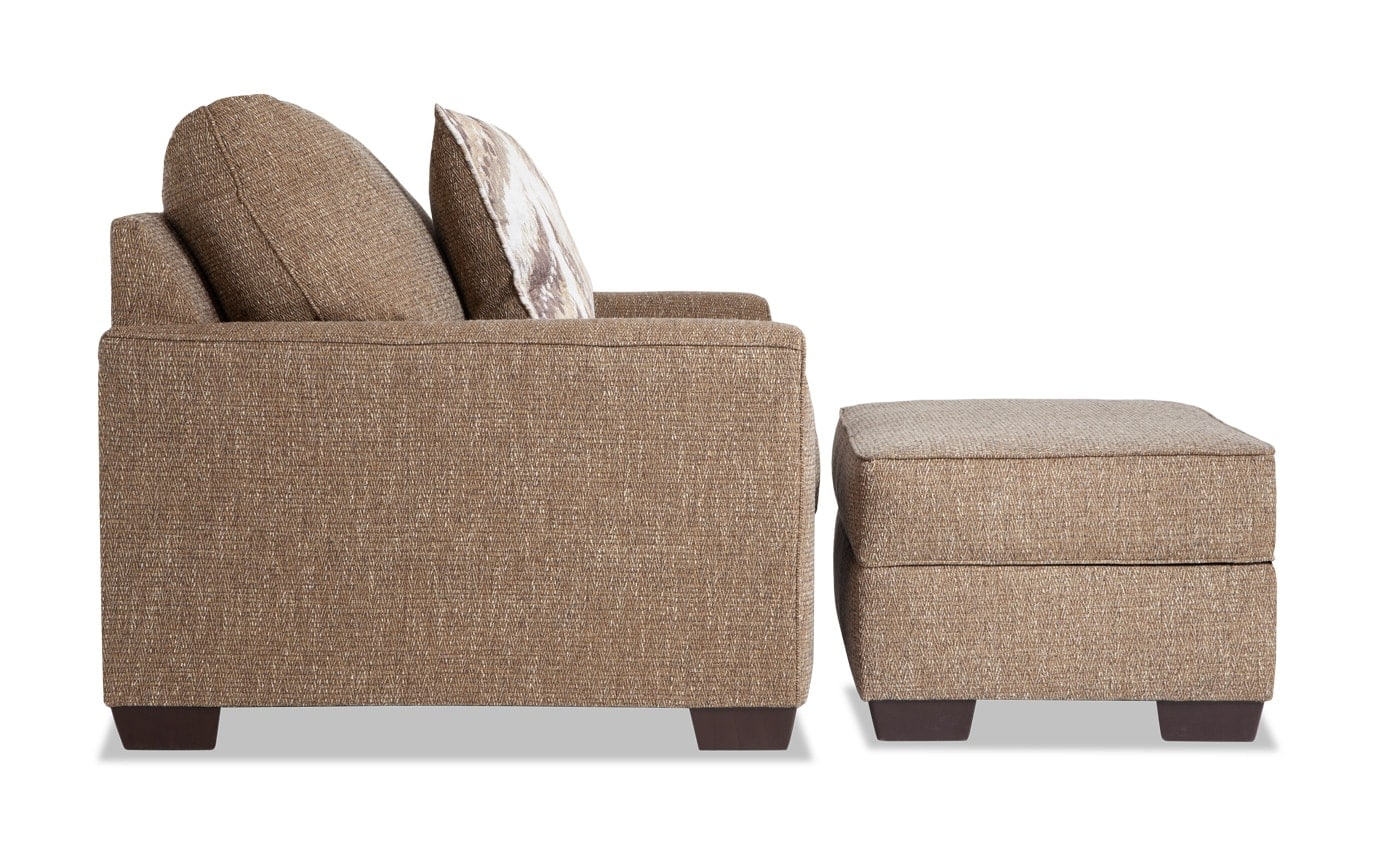 Luca Chair & Storage Ottoman