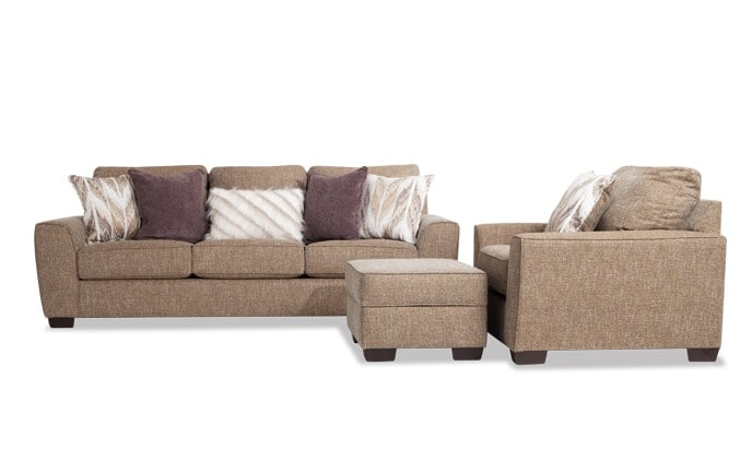 Luca Sofa, Chair & Ottoman