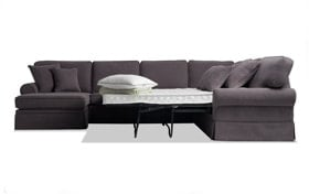Katie 4 Piece Right Arm Facing Innerspring Sleeper Sectional