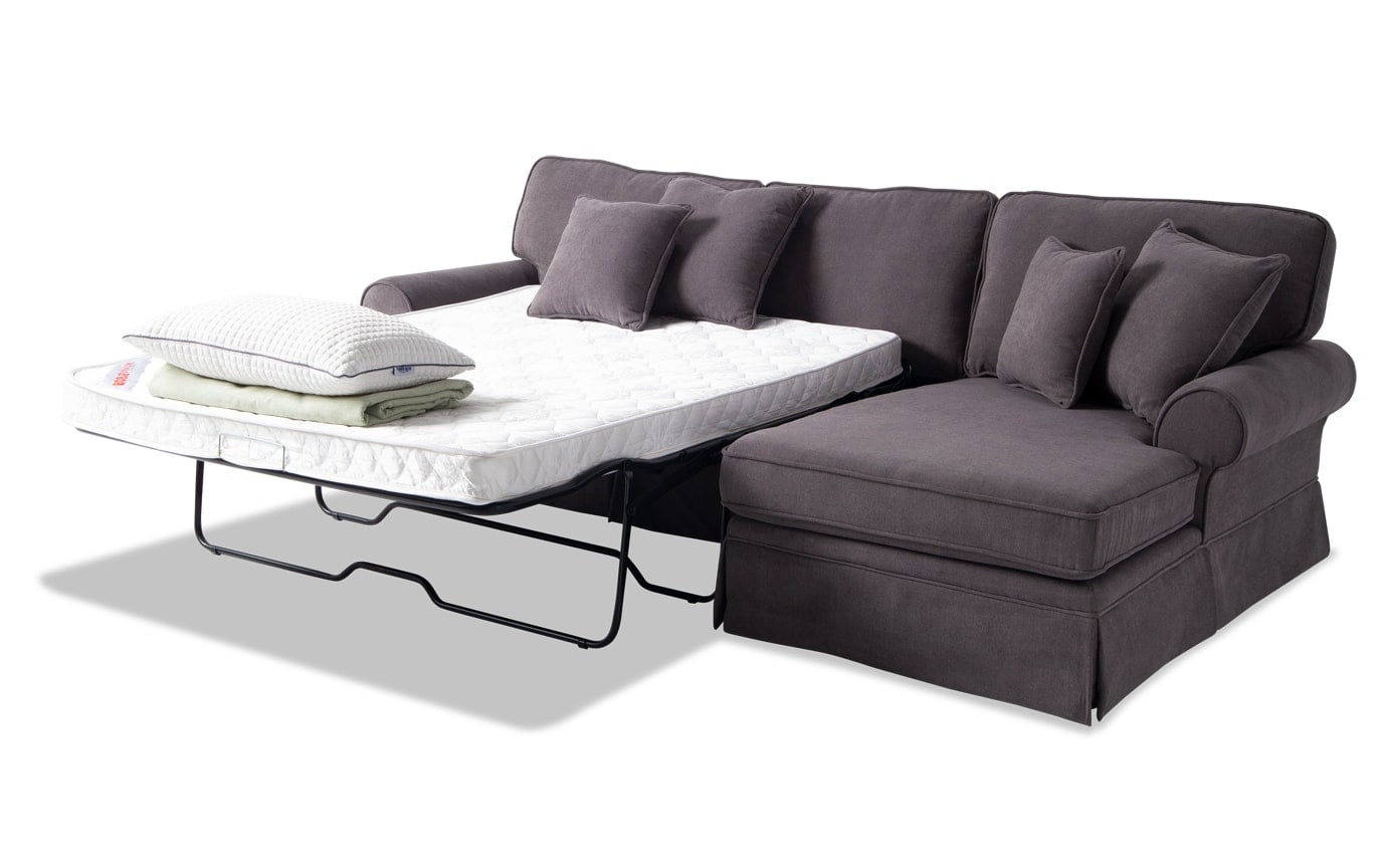 Katie 2 Piece Left Arm Facing Innerspring Sleeper Sectional