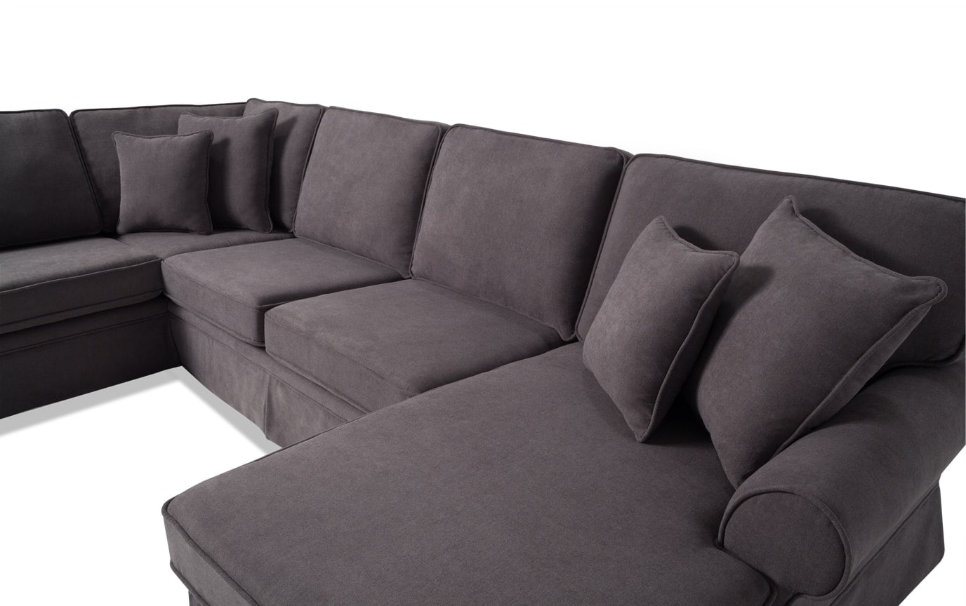 Katie 4 Piece Left Arm Facing Innerspring Sleeper Sectional