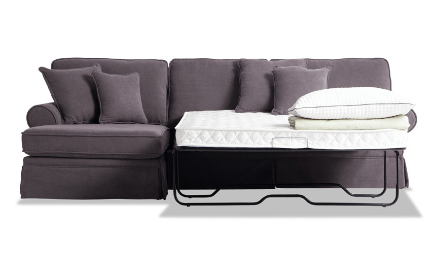 Katie 2 Piece Right Arm Facing Innerspring Sleeper Sectional