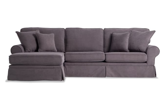 Katie 2 Piece Right Arm Facing Bob-O-Pedic Gel Sleeper Sectional
