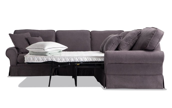 Katie 3 Piece Innerspring Sleeper Sectional