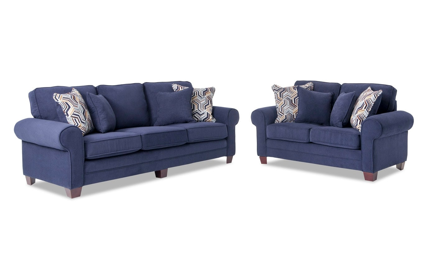 Gracie Sofa & Loveseat