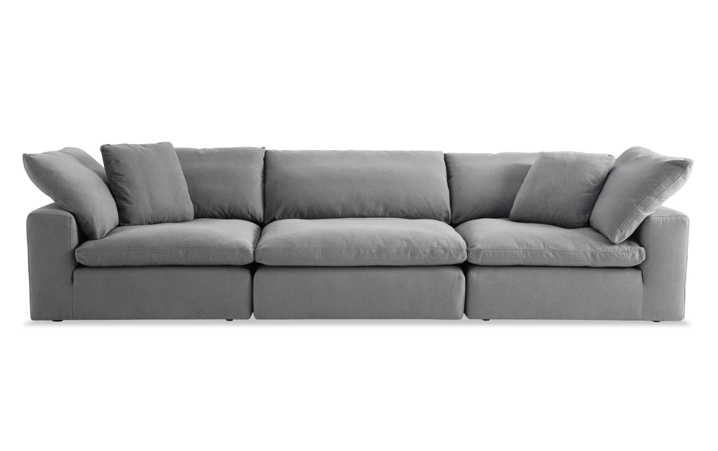 Dream Gray Modular Sofa Bobs