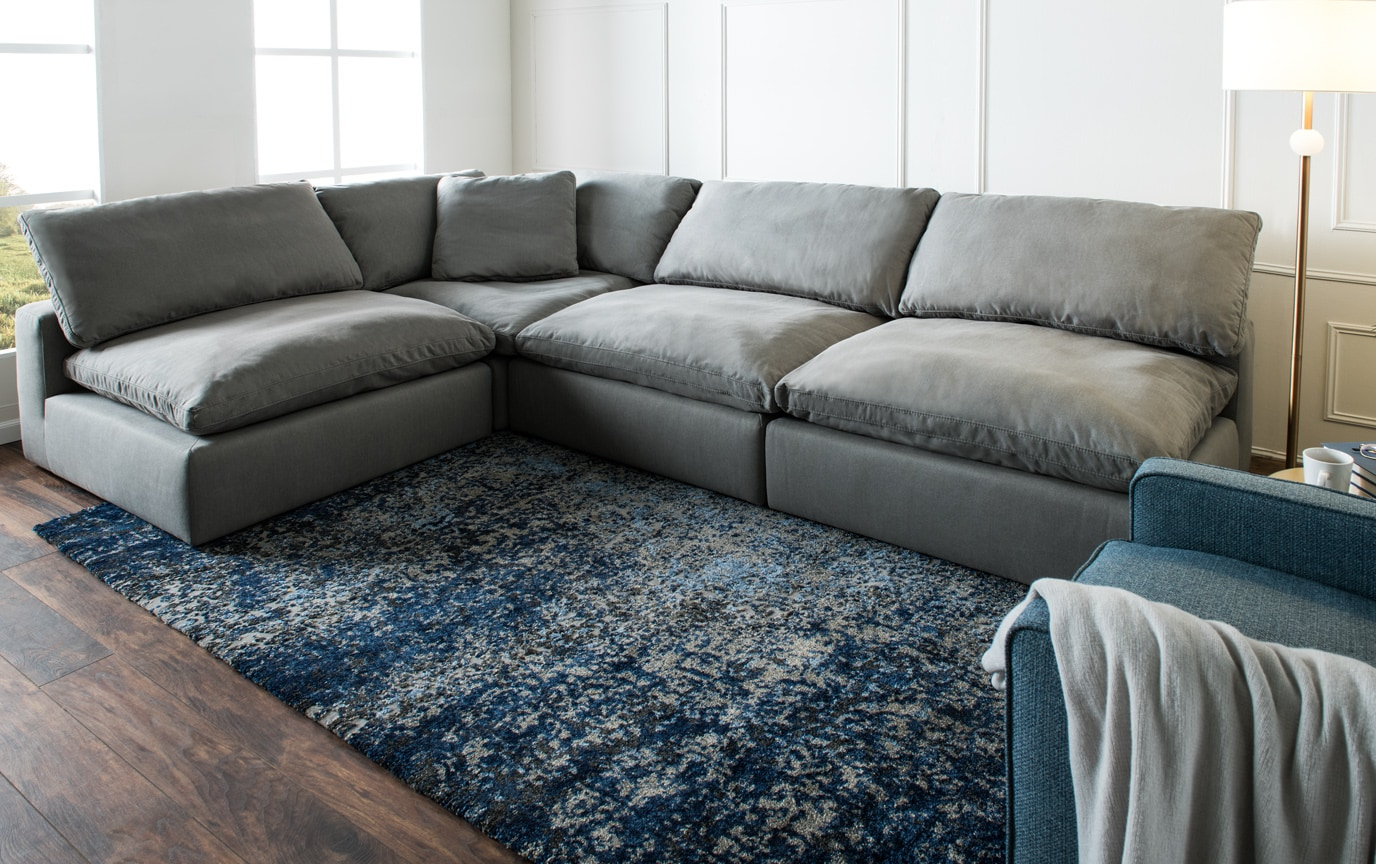 Dream Gray Modular 6 Piece Sectional