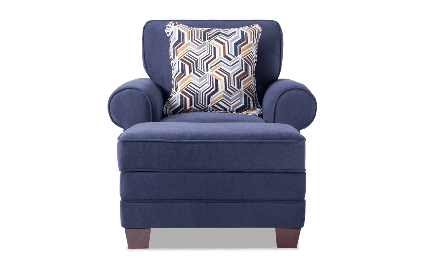 Gracie Chair & Storage Ottoman