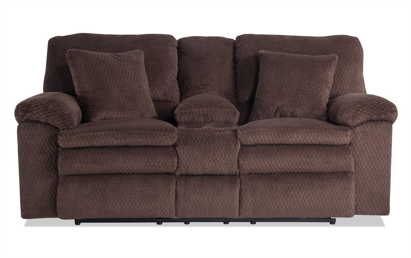 Niles Power Reclining Console Loveseat