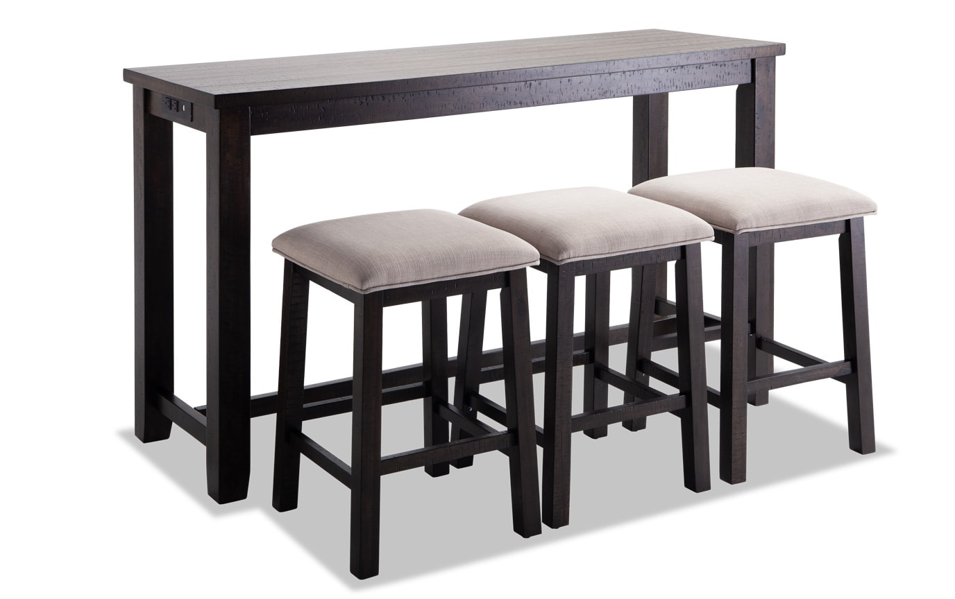 Arcadia 4 Piece Bar Table Set