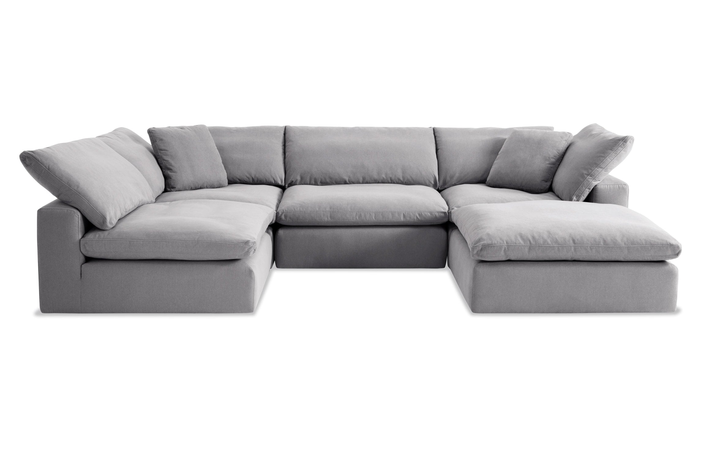 Dream Gray Modular 5 Piece Sectional