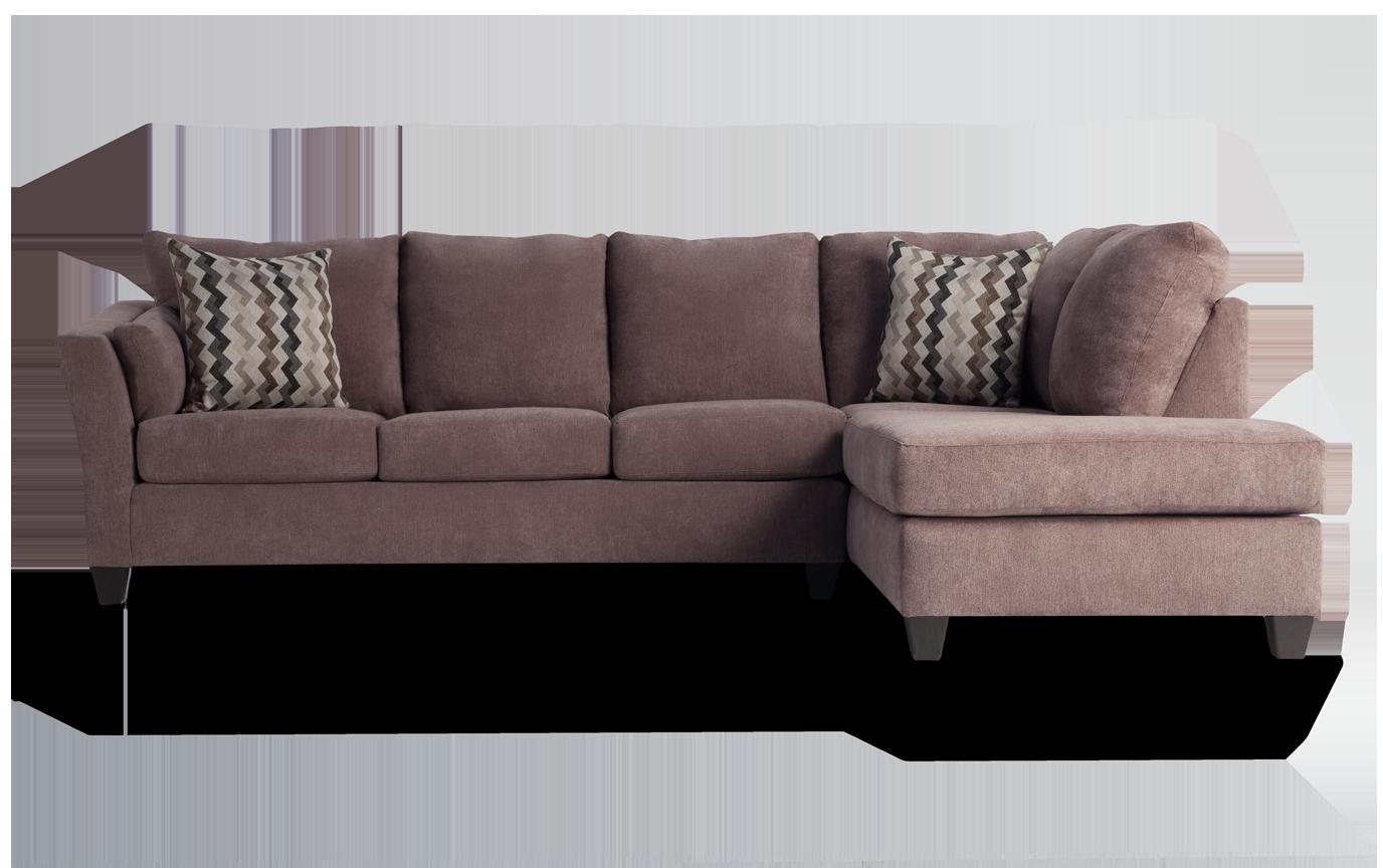 Amazing Virgo Brown 2 Piece Left Arm Facing Sectional Short Links Chair Design For Home Short Linksinfo
