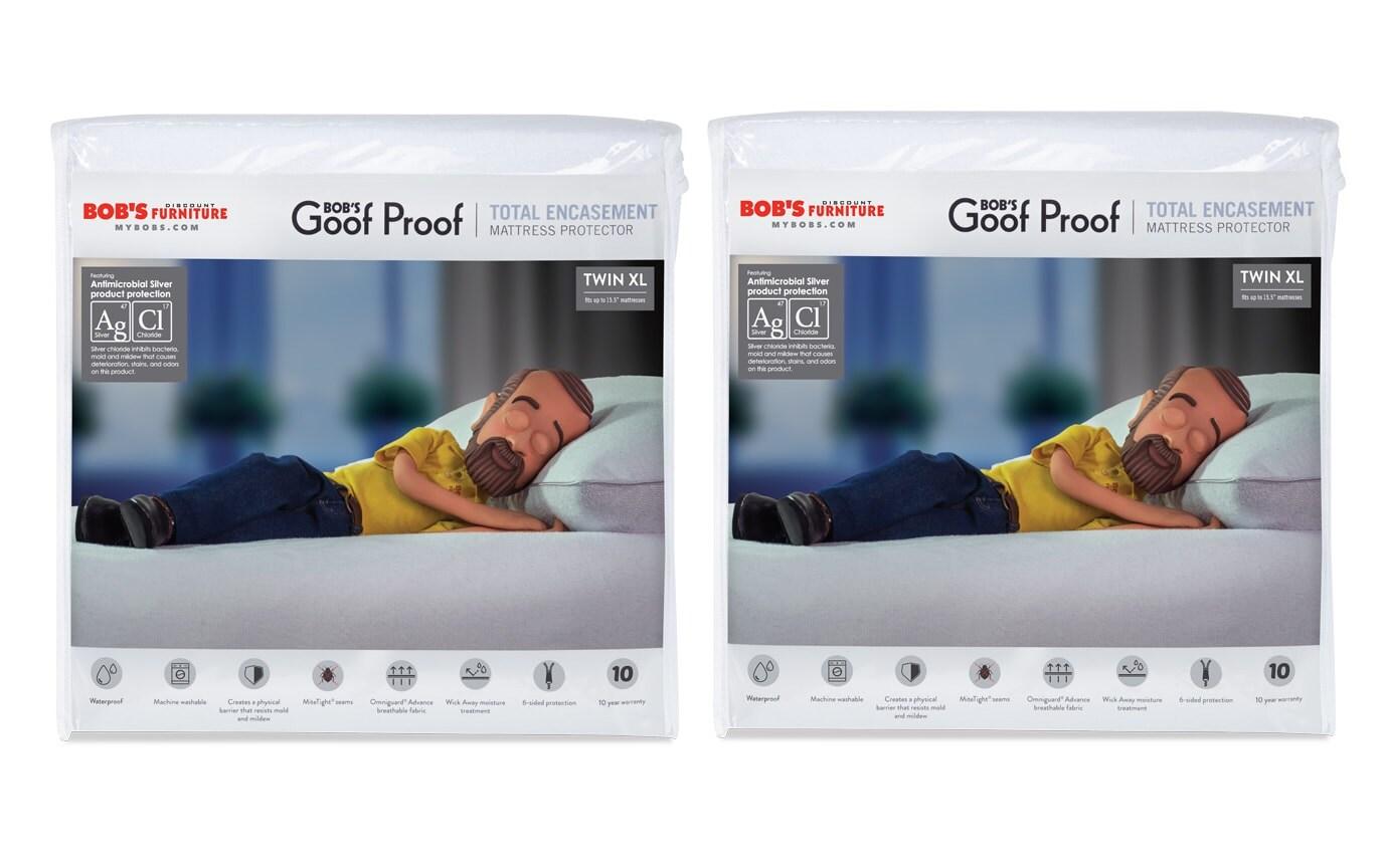 Set of 2 Total Encasement Bed Protectors
