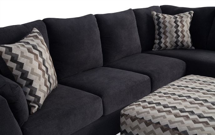 Virgo 3 Piece Left Arm Facing Sectional