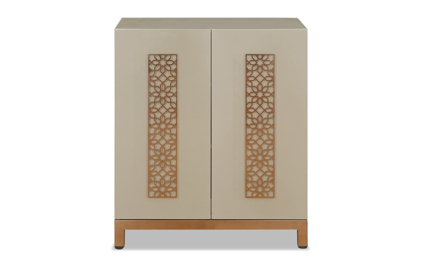 Bling Two Door Cabinet