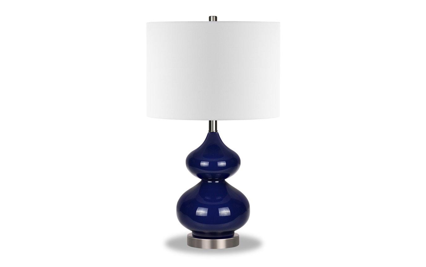 Katarina Navy Blue Table Lamp