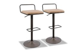 Set of 2 Berta Bar Stools