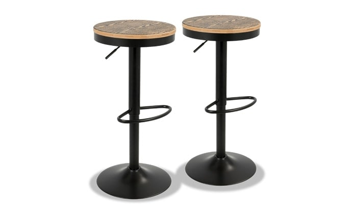 Denver Adjustable Bar Stool Set of 2