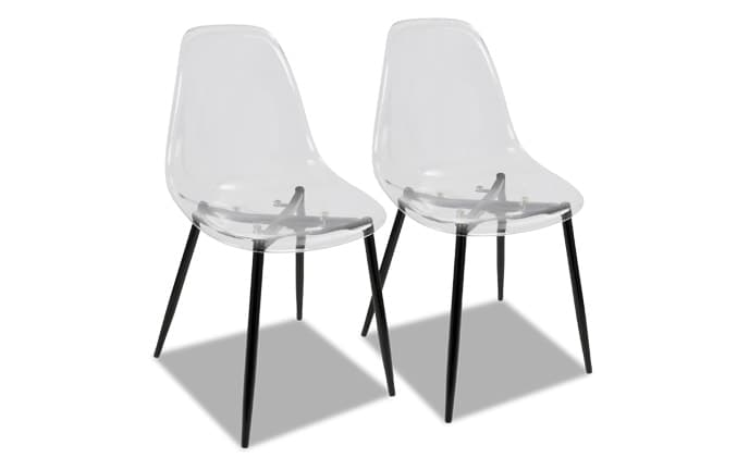 Set of 2 Clarance Dining Chairs