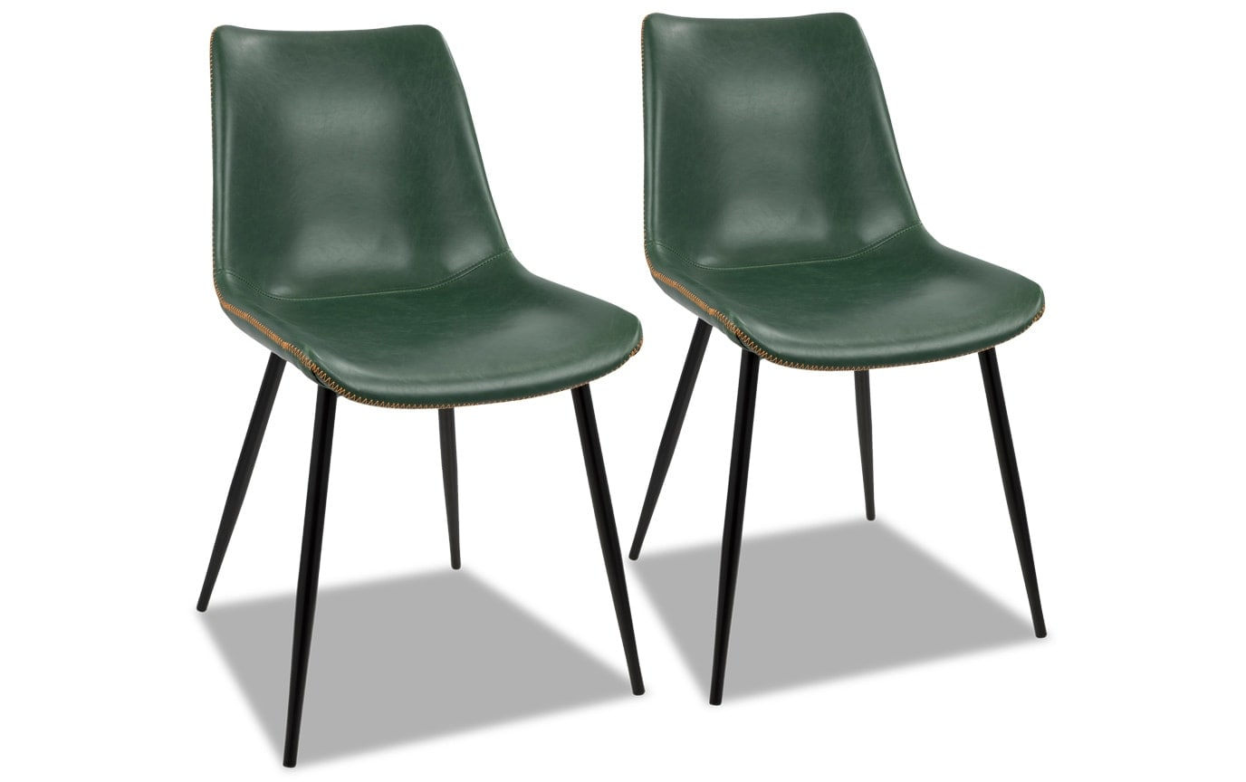 Set of 2 Delta Dining Chairs