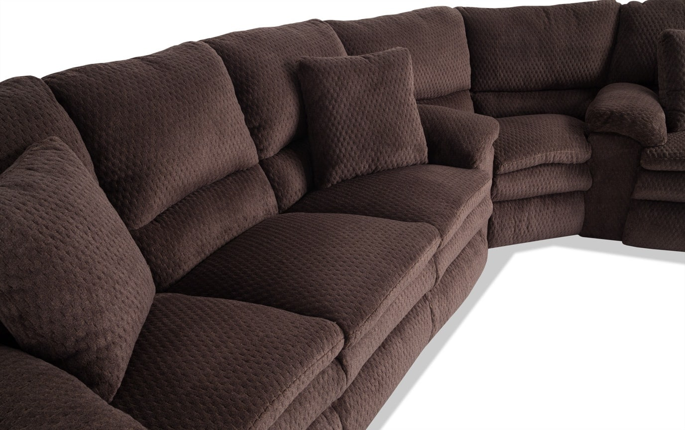 Niles Power Reclining Sectional Bobs Com
