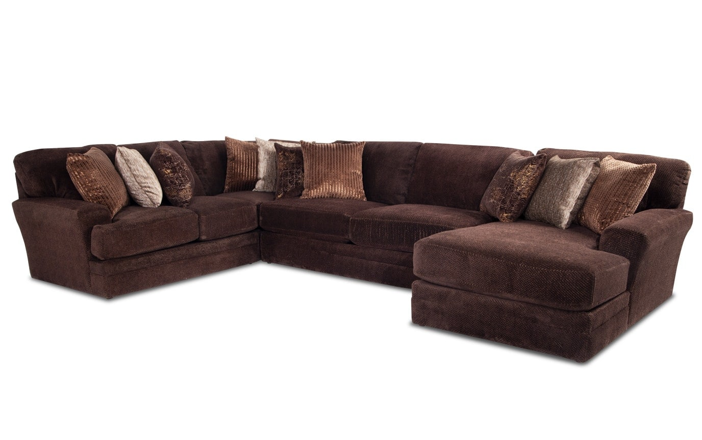 Sensation 4 Piece Left Arm Facing Sectional