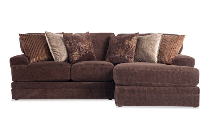 Sensation 2 Piece Left Arm Facing Sectional
