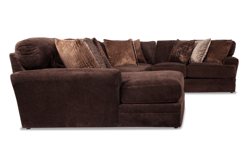 Sensation 4 Piece Right Arm Facing Sectional