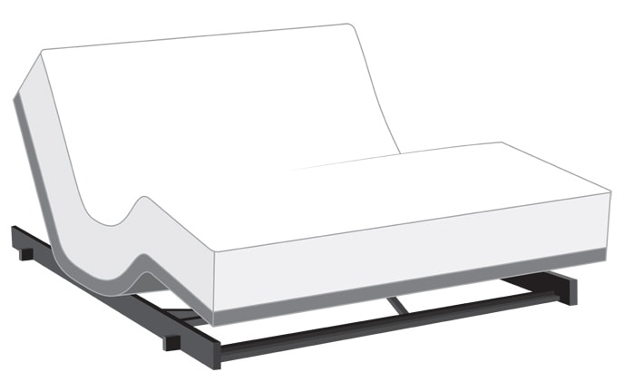Power Bob Low Rider with Bob-O-Pedic Eclipse Gel Mattress