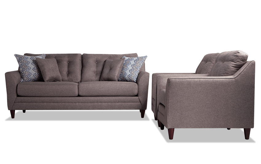 Jaxon Sofa & 2 Chairs