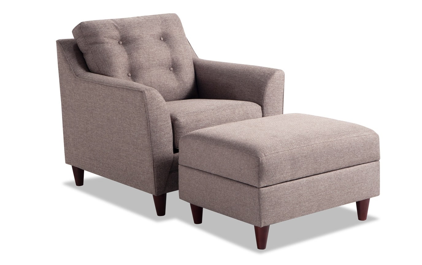 Jaxon Chair & Ottoman