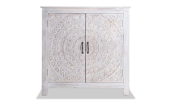 Boho Chic Two Door Cabinet