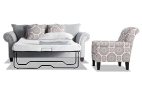Artisan Full Bob-O-Pedic Sleeper & Accent Chair