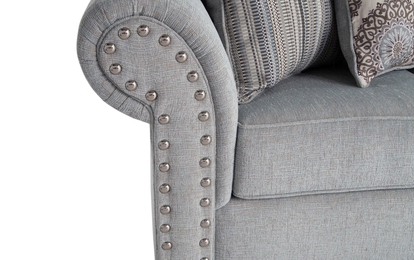 Artisan Full Innerspring Sleeper, Oversized Chair & Storage Ottoman