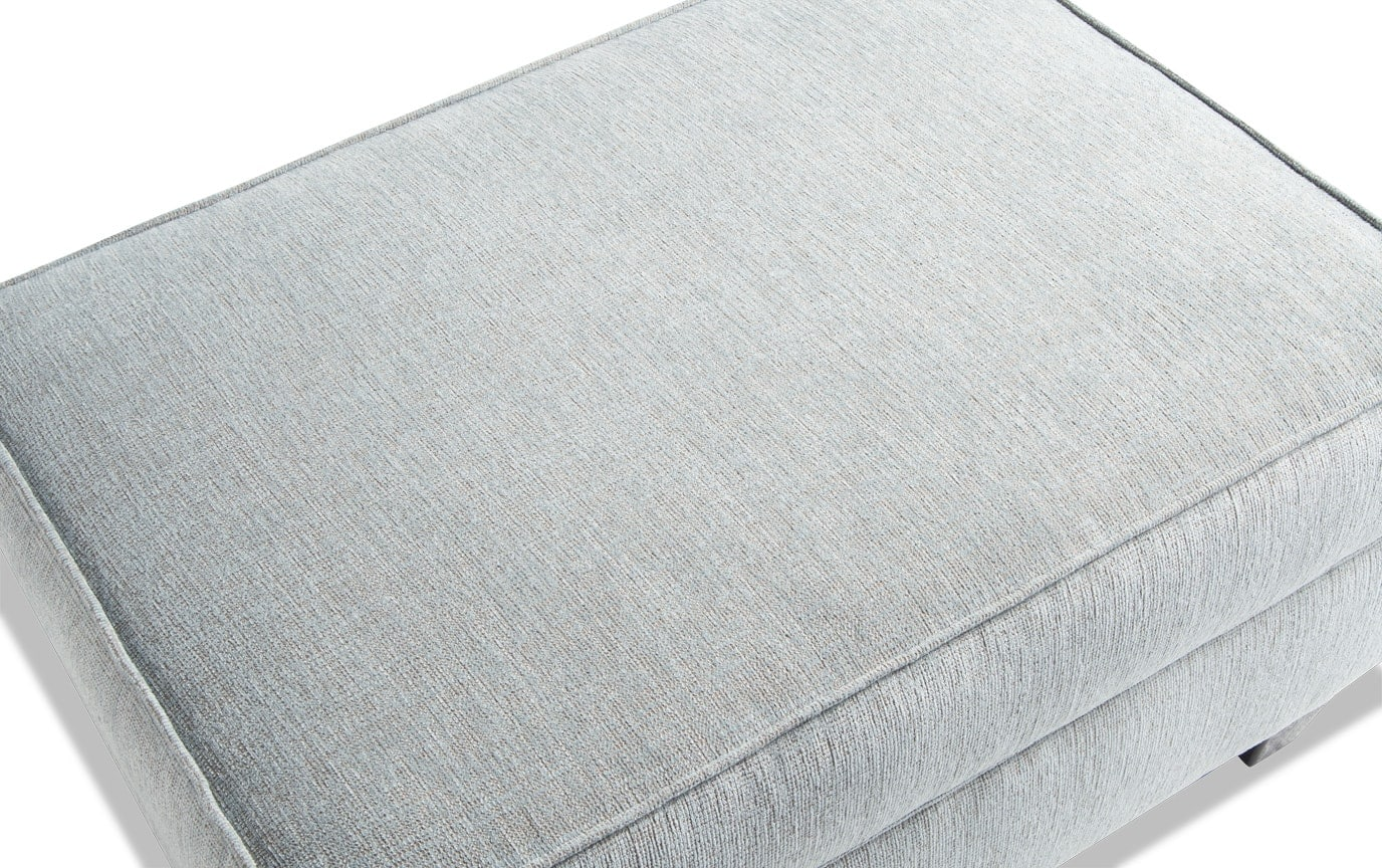 Artisan Full Bob-O-Pedic Sleeper, Oversized Chair & Storage Ottoman