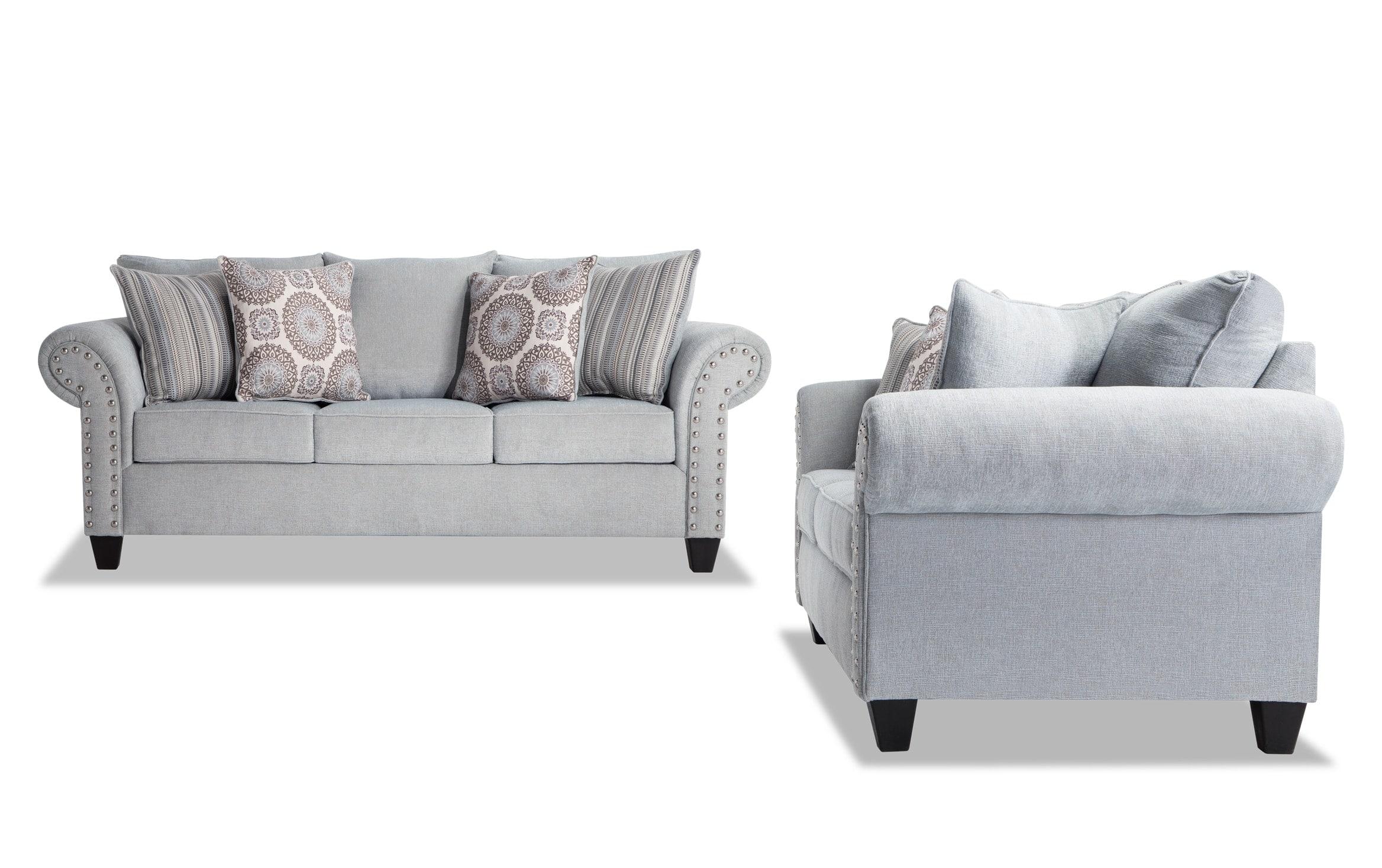 Picture of: Artisan Blue Sofa Set Bobs Com