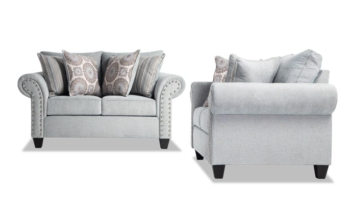 Artisan Blue Loveseat Set