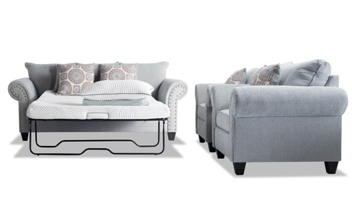 Artisan Full Bob-O-Pedic Sleeper & 2 Chairs