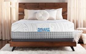 Bob-O-Pedic Twilight Twin XL Plush Low-Profile Mattress Set