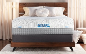 Bob-O-Pedic Twilight King Dual Standard Mattress Set