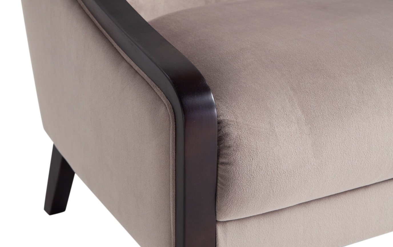 Pate Gray Accent Chair