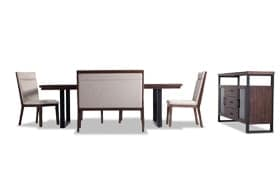 Catalina 7 Piece Dining Set with Bench & Sideboard