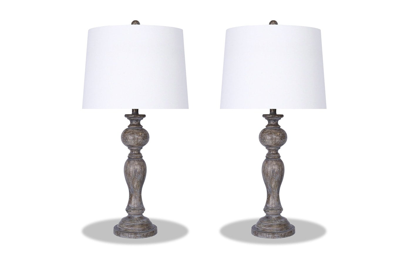 Set of 2 Chateau Lamps