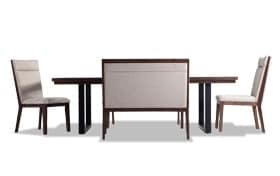 Catalina 5 Piece Dining Set with Bench