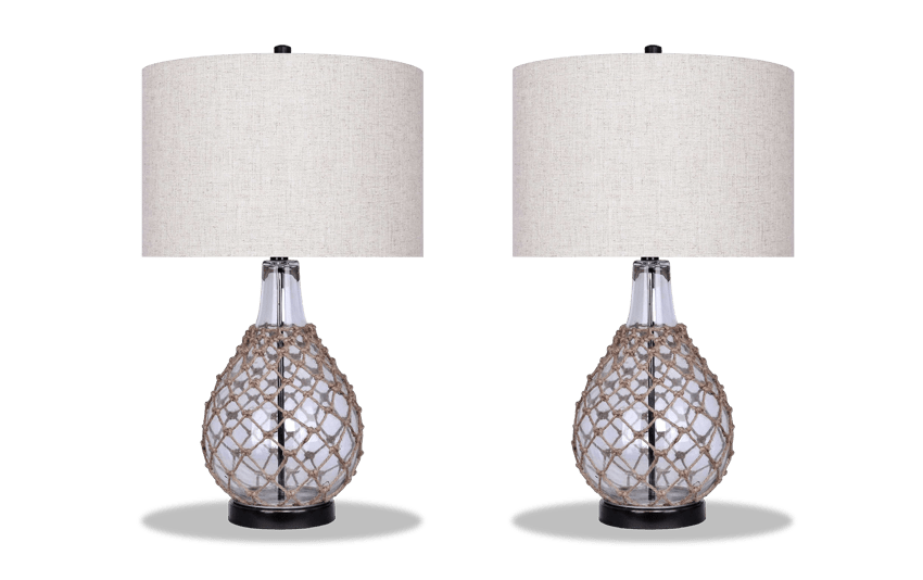 Set of 2 Bayside Lamps