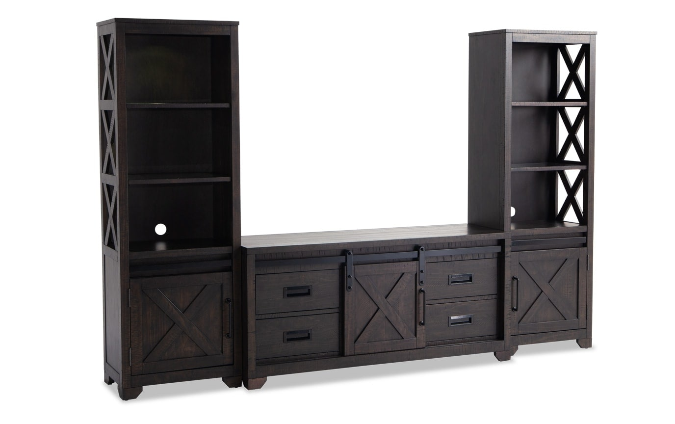 Montana Entertainment 3 Piece Wall System