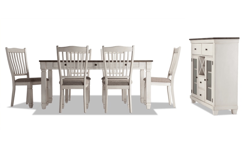 Savannah 8 Piece Dining Set with Server